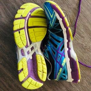 Asics Shoes - Kiana Tom Signed Sneakers Fitness Athletic Shoes